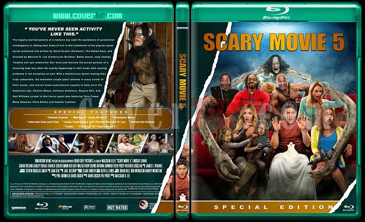 Scary Movie Collection (Korkunç Bir Film Koleksiyonu) - Custom Bluray Cover Set - English-scary-movie-5jpg