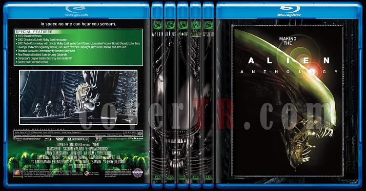 Alien Collection (Yaratık Koleksiyonu) - Custom Bluray Cover Set - English-alien-anthologyjpg
