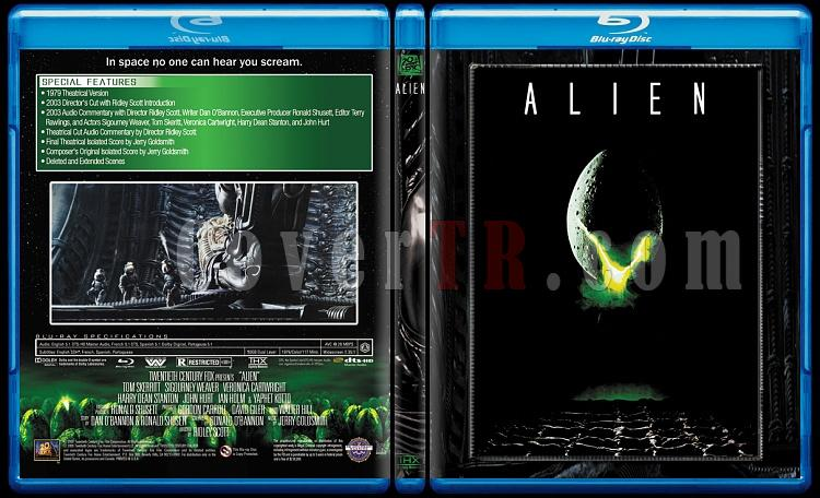 Alien Collection (Yaratık Koleksiyonu) - Custom Bluray Cover Set - English-1jpg