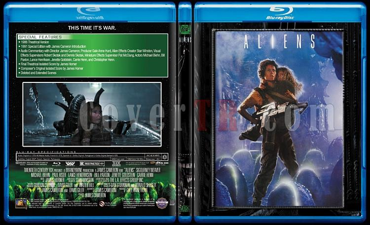 Alien Collection (Yaratık Koleksiyonu) - Custom Bluray Cover Set - English-2jpg