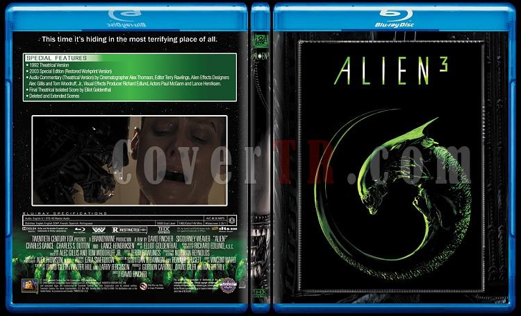 Alien Collection (Yaratık Koleksiyonu) - Custom Bluray Cover Set - English-3jpg