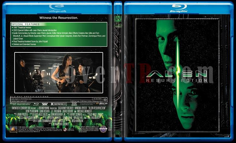 Alien Collection (Yaratık Koleksiyonu) - Custom Bluray Cover Set - English-4jpg