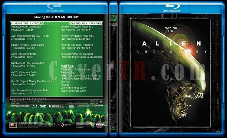 Alien Collection (Yaratık Koleksiyonu) - Custom Bluray Cover Set - English-5jpg