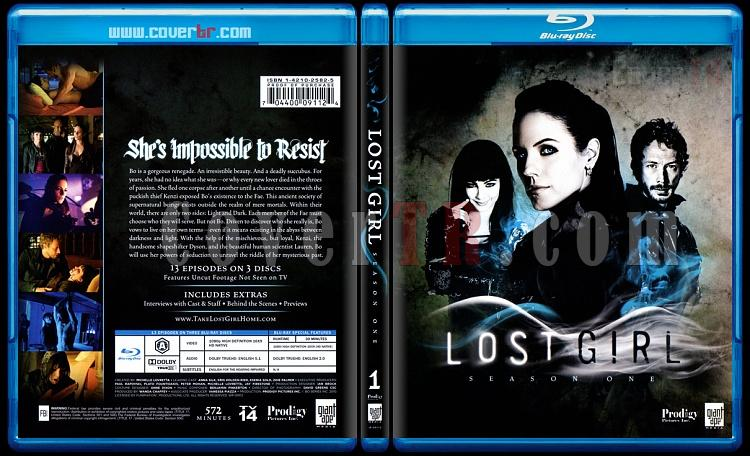 Lost Girl (Seasons 1-2) - Scan Bluray Cover Set - English [2010-?]-lost-girl-season-1jpg