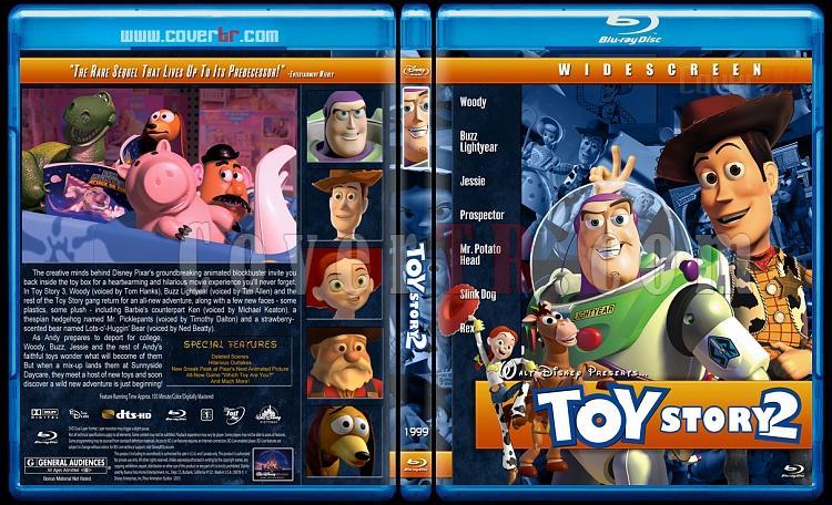 Toy Story Collection (Oyuncak Hikayesi Koleksiyonu) - Custom Bluray Cover Set - English [1995-1999-2010]-toy-story-2-1999jpg