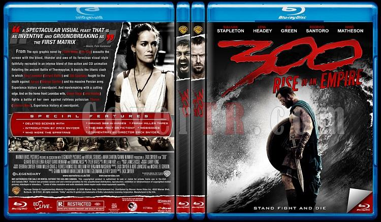 300 & 300: Rise of an Empire - Custom Bluray Cover Set - English [2006-2014]-br-spine-copyjpg