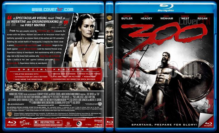 300 & 300: Rise of an Empire - Custom Bluray Cover Set - English [2006-2014]-1jpg