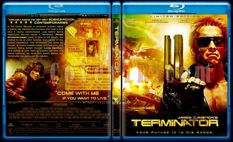 Terminator Collection - Custom Bluray Cover Set - English-terminator-1jpg