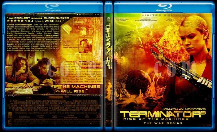 Terminator Collection - Custom Bluray Cover Set - English-terminator-3-rise-machines-v1jpg