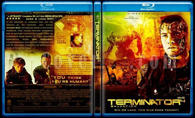 Terminator Collection - Custom Bluray Cover Set - English-terminator-4-salvationjpg