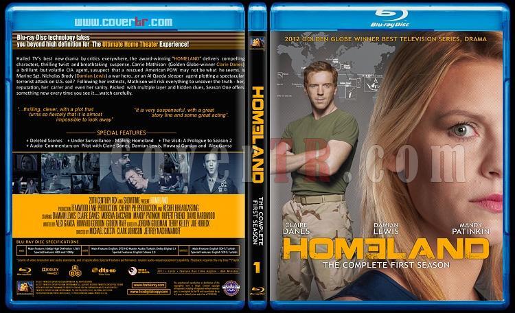 Homeland (Seasons 1-3) - Custom Bluray Cover Set - English [2011-?]-01jpg