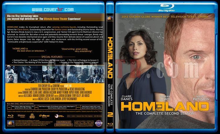 Homeland (Seasons 1-3) - Custom Bluray Cover Set - English [2011-?]-02jpg