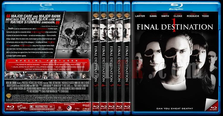Final Destination Collection (Son Durak Koleksiyonu) - Custom Bluray Cover Set - English [2000-2011]-hepsijpg