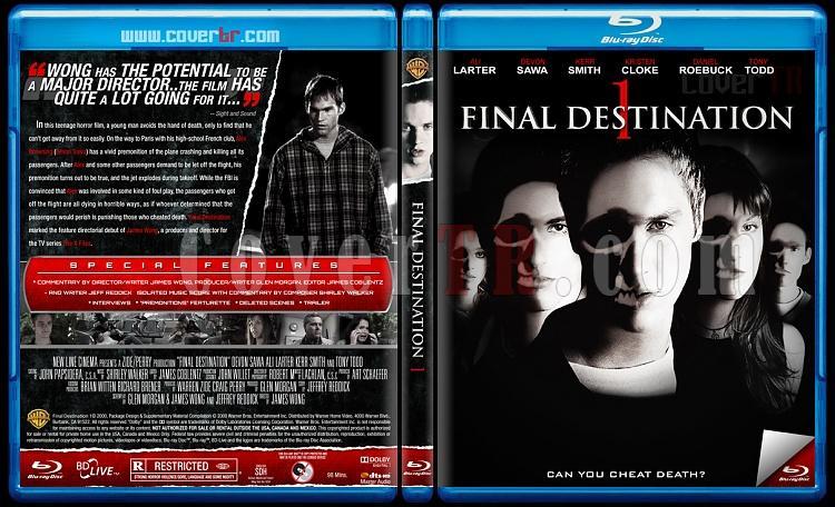 Final Destination Collection (Son Durak Koleksiyonu) - Custom Bluray Cover Set - English [2000-2011]-1jpg