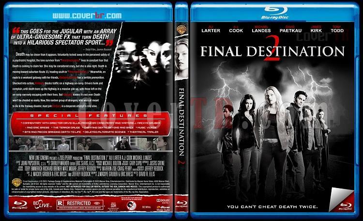 Final Destination Collection (Son Durak Koleksiyonu) - Custom Bluray Cover Set - English [2000-2011]-2jpg
