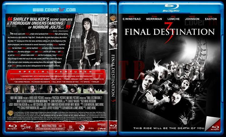 Final Destination Collection (Son Durak Koleksiyonu) - Custom Bluray Cover Set - English [2000-2011]-3jpg