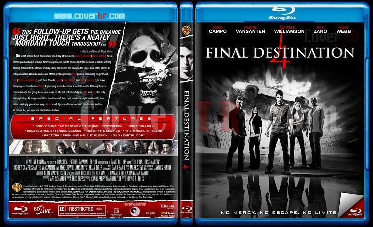 Final Destination Collection (Son Durak Koleksiyonu) - Custom Bluray Cover Set - English [2000-2011]-4jpg