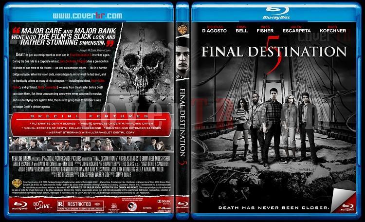 Final Destination Collection (Son Durak Koleksiyonu) - Custom Bluray Cover Set - English [2000-2011]-5jpg