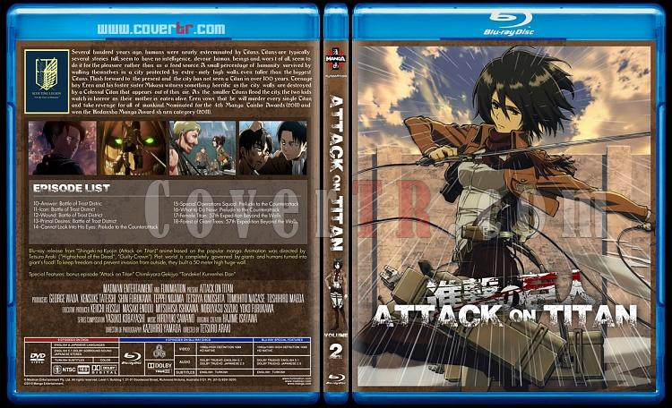 Attack on Titan - Custom Bluray Cover Set - English [2013]-2jpg