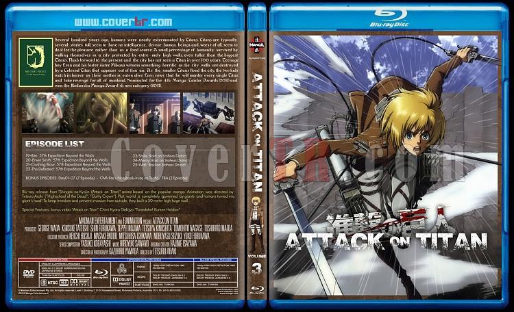 Attack on Titan - Custom Bluray Cover Set - English [2013]-3jpg