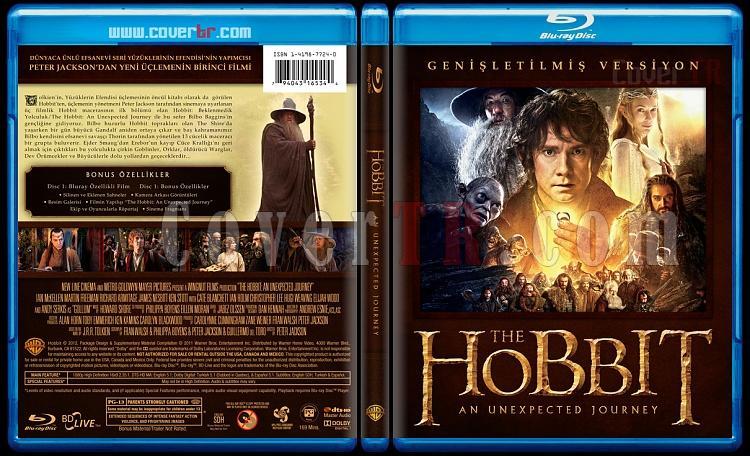 The Hobbit Collection - Custom Bluray Cover Set - Türkçe [2012-2013]-1jpg