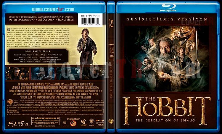 The Hobbit Collection - Custom Bluray Cover Set - Türkçe [2012-2013]-2jpg