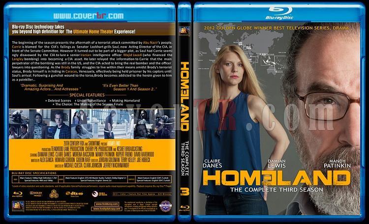 Homeland (Seasons 1-3) - Custom Bluray Cover Set - English [2011-?]-blu-ray-1-disc-flat-3173x1762-11mmjpg