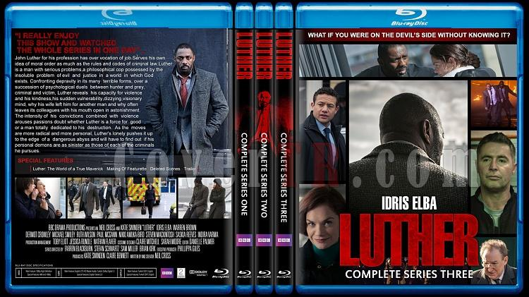 Luther (Seasons 1-3) - Custom Bluray Cover Set - English [2010-2013]-lutherjpg