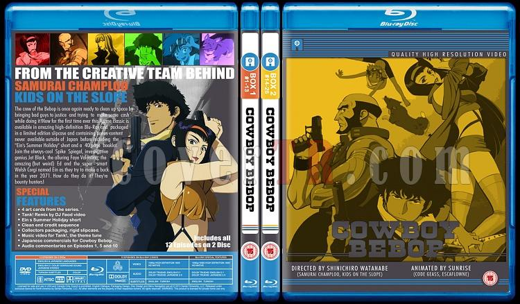 Cowboy Bebop - Custom Bluray Cover Set - English [1998]-br-spine-copyjpg