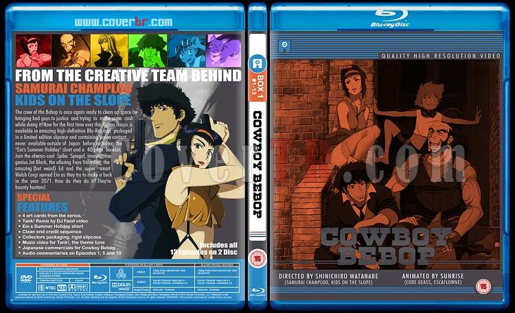 Cowboy Bebop - Custom Bluray Cover Set - English [1998]-1jpg