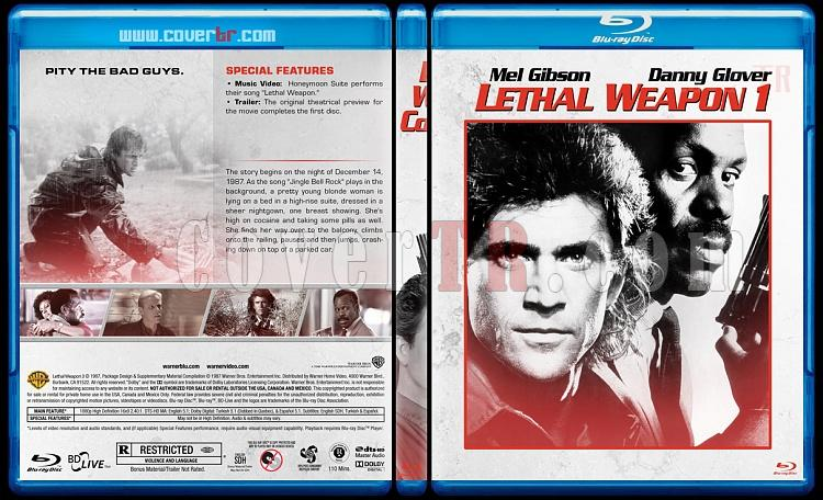 Lethal Weapon Collection (Cehennem Silahı Koleksiyonu) - Custom Bluray Cover Set - English [1987-1998]-1jpg