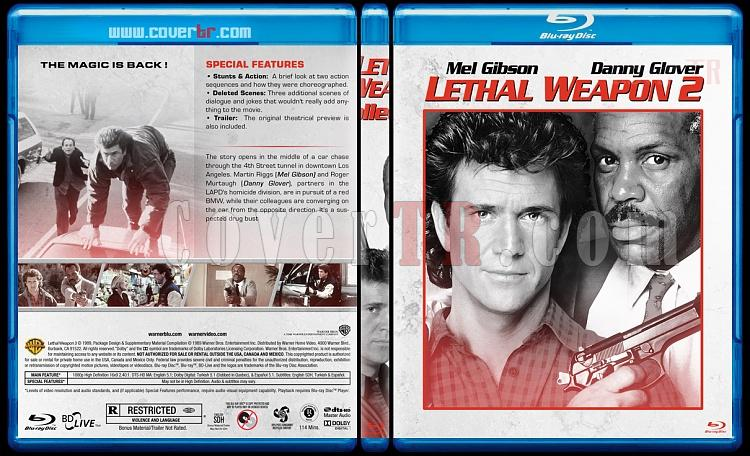 Lethal Weapon Collection (Cehennem Silahı Koleksiyonu) - Custom Bluray Cover Set - English [1987-1998]-2jpg