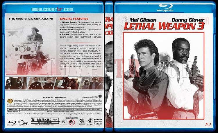 Lethal Weapon Collection (Cehennem Silahı Koleksiyonu) - Custom Bluray Cover Set - English [1987-1998]-3jpg