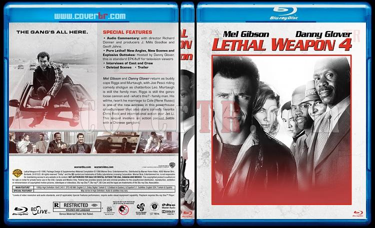Lethal Weapon Collection (Cehennem Silahı Koleksiyonu) - Custom Bluray Cover Set - English [1987-1998]-4jpg