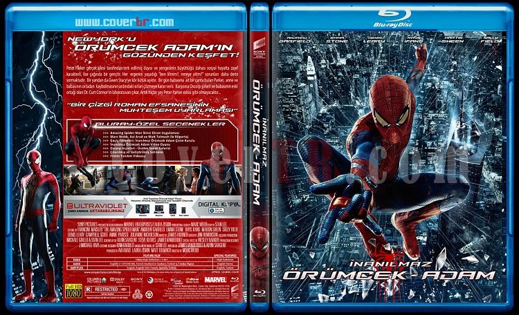 The Amazing Spider-Man (İnanılmaz Örümcek-Adam) - Custom Bluray Cover Set - Türkçe [2012-2014]-orumcek-1jpg