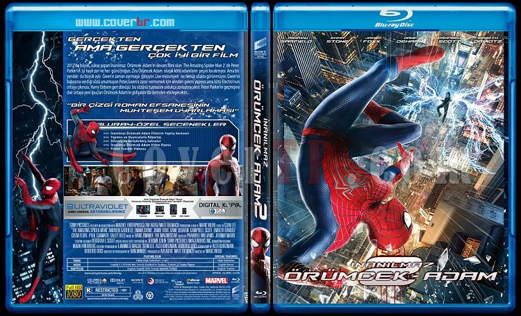 The Amazing Spider-Man (İnanılmaz Örümcek-Adam) - Custom Bluray Cover Set - Türkçe [2012-2014]-orumcek-2jpg