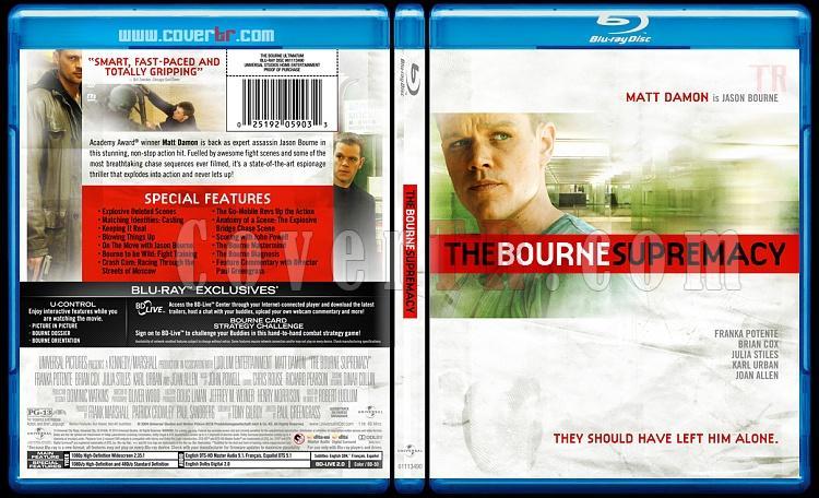 The Bourne Trilogy - Custom Bluray Cover Set - English [2002-2004-2007]-bourne-supremacy-2jpg