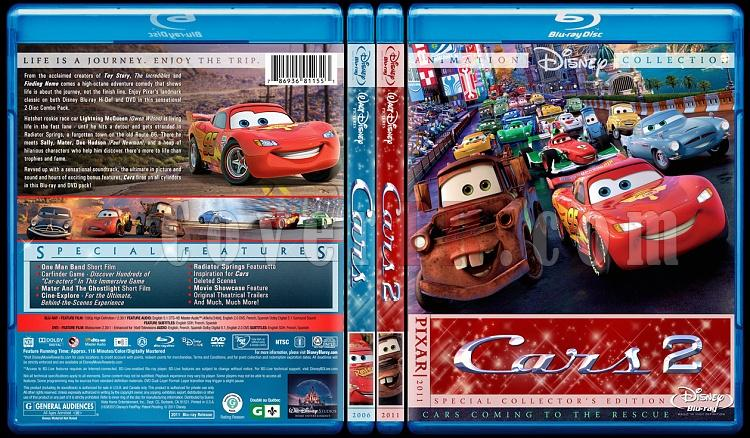 Cars Collection - Custom Bluray Cover Set - English [2006-2011]-br-spine-copyjpg