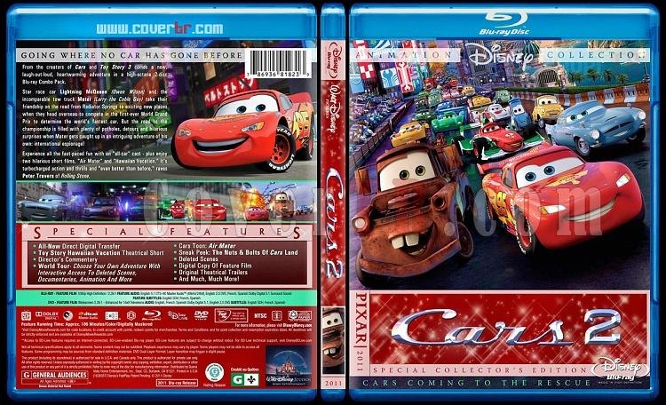 Cars Collection - Custom Bluray Cover Set - English [2006-2011]-cars-2-bluray-coverjpg
