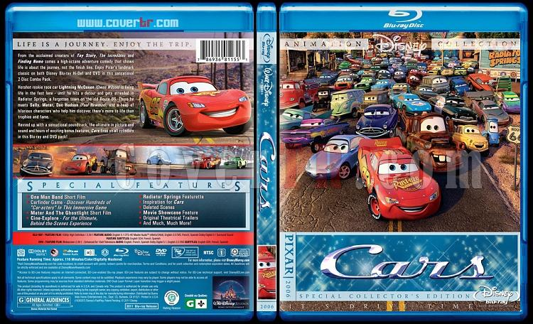 Cars Collection - Custom Bluray Cover Set - English [2006-2011]-cars-bluray-coverjpg