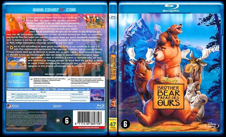 Brother Bear Collection (Ayı Kardeş Koleksiyonu) - Scan Bluray Cover Set - Dutch/French [2003-2006]-onizleme-1jpg