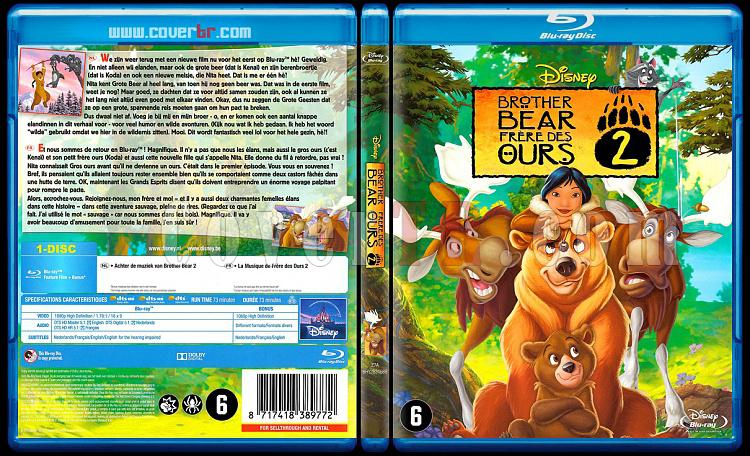Brother Bear Collection (Ayı Kardeş Koleksiyonu) - Scan Bluray Cover Set - Dutch/French [2003-2006]-onizleme-2jpg