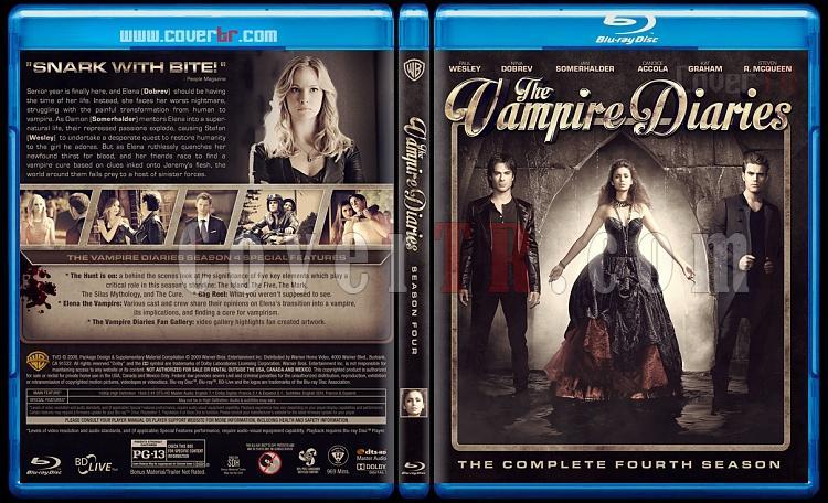 The Vampire Diaries (Seasons 1-5) - Custom Bluray Cover - English [2009-?]-4jpg