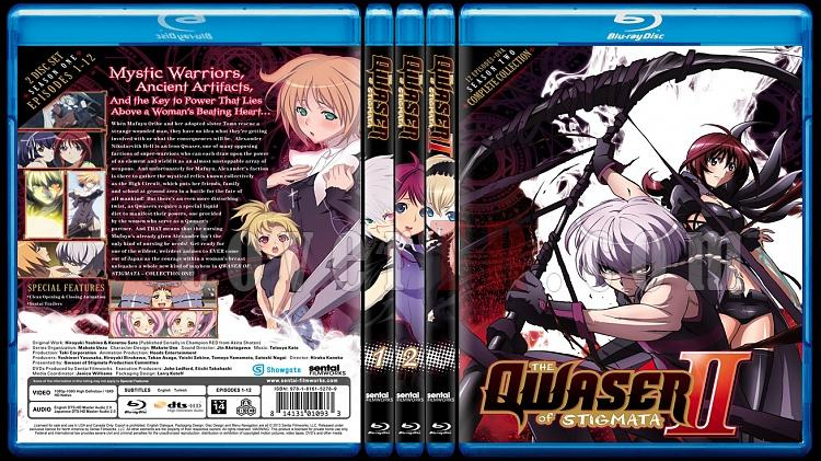 The Qwaser of Stigmata (Seasons 1-2) - Custom Bluray Cover Set - English [2010-2012]-123jpg