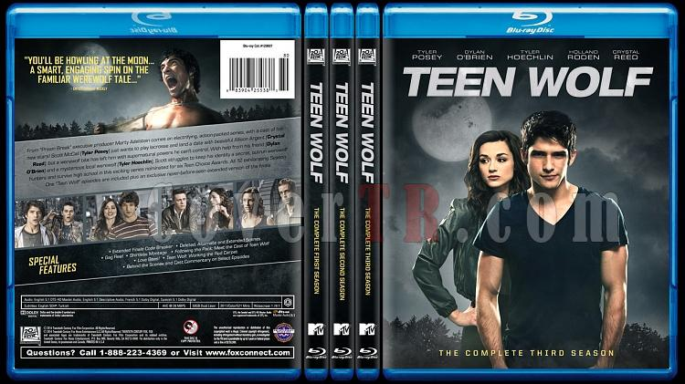 Teen Wolf (Genç Kurt) - Custom Bluray Cover Set - English [2011-?]-all-previewjpg