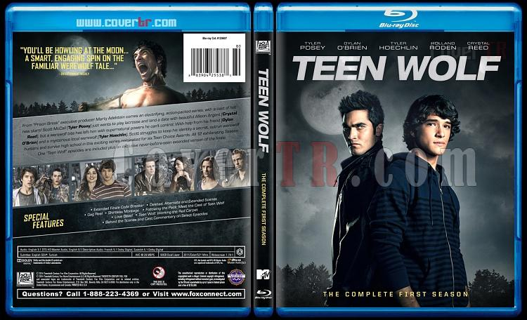 Teen Wolf (Genç Kurt) - Custom Bluray Cover Set - English [2011-?]-1jpg