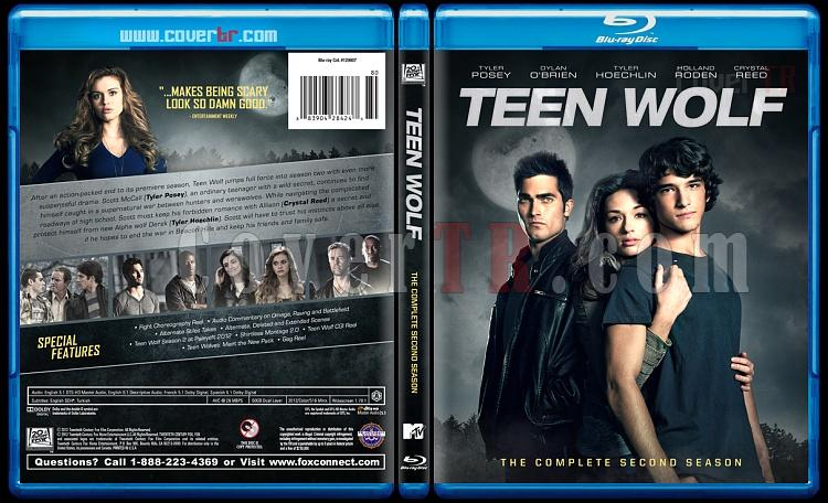 Teen Wolf (Genç Kurt) - Custom Bluray Cover Set - English [2011-?]-2jpg