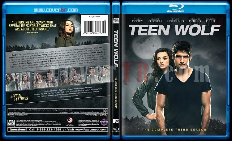 Teen Wolf (Genç Kurt) - Custom Bluray Cover Set - English [2011-?]-3jpg
