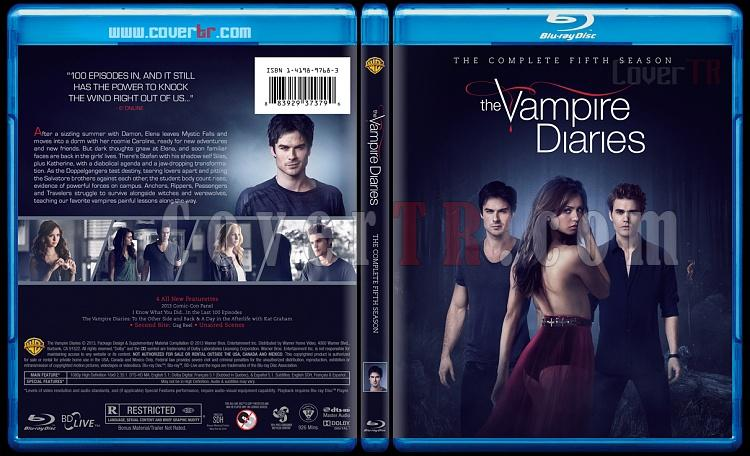 The Vampire Diaries (Seasons 1-6) - Custom Bluray Cover - English [2009-?]-5jpg