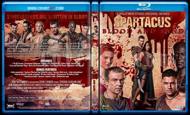 Spartacus (All Seasons) - Custom Bluray Cover Set - English [2010-2013]-1jpg
